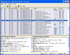 EffeTech HTTP Sniffer - HTTP sniffer, packet analyzer and rebuilder.